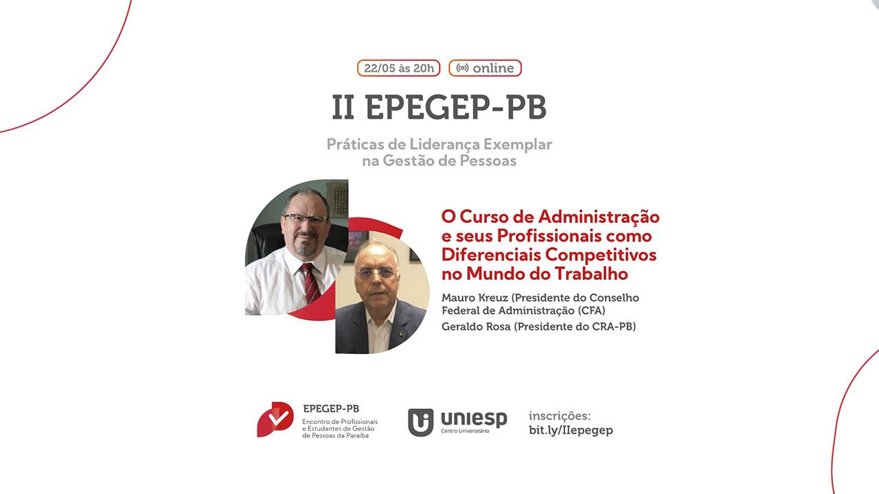 II Encontro de Profissionais e Estudantes de Gestão de Pessoas da Paraíba