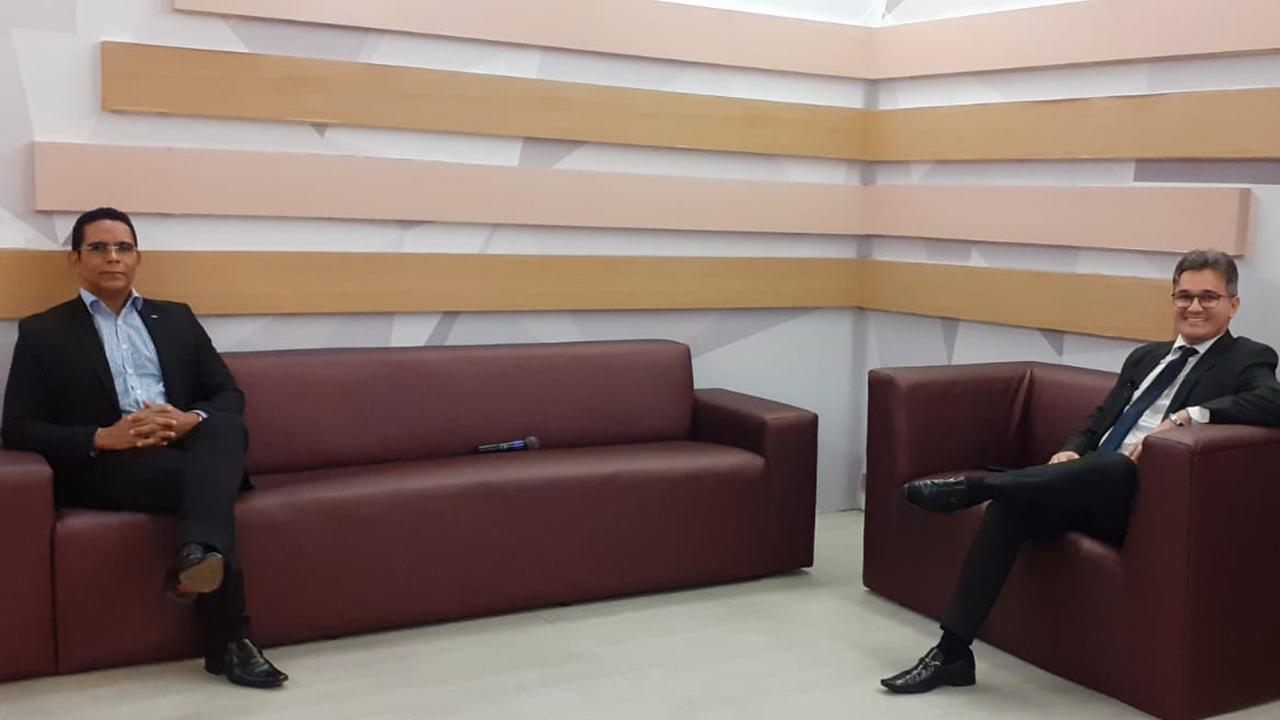 Presidente do CRA-PB, Adm. César Emanoel participa do Programa Café com Notícias