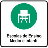 Escolas de Ensino Médio e Infantil