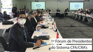 Presidente do CRA-PB se reúne com os presidentes dos demais estados e com a diretoria executiva do CFA para definir ações dos próximos dois anos